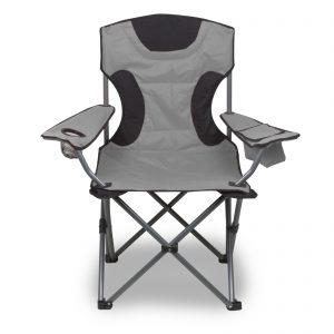 Campingstuhl schwarz / grau