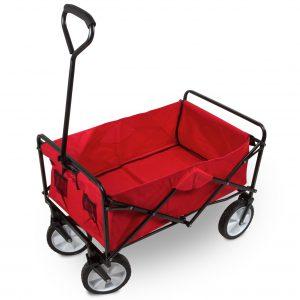 Faltbarer Bollerwagen, Farbe rot