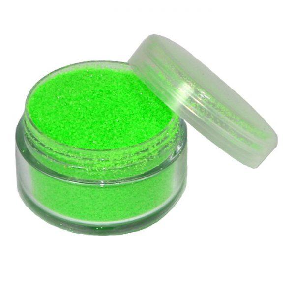 Glitter Neon-grün in 5 ml Dose