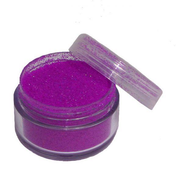 Glitter Neon-Lila in 5 ml Dose