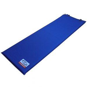 Selbstaufblasende Luftmatratze, blau