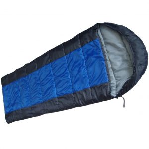 Schlafsack blau/grau